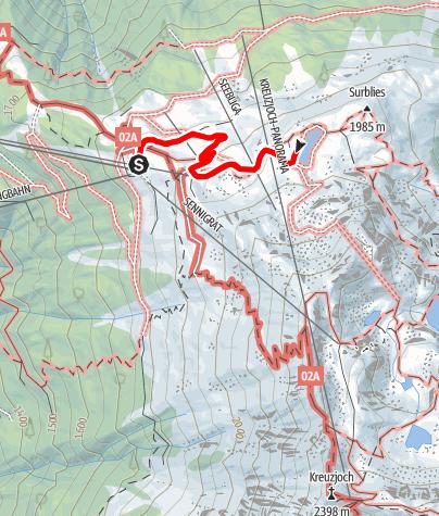 Karte / Zum Seebligasee