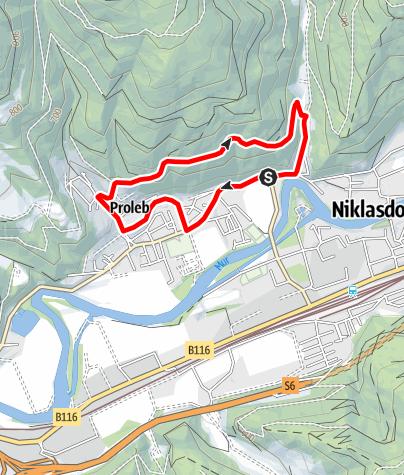 Karte / Panoramaweg Runde