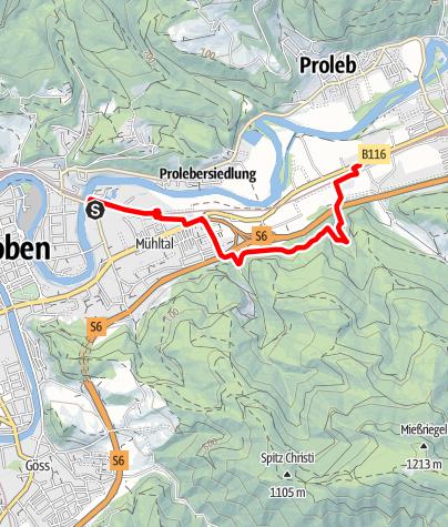 Karte / V1 - Leoben - Brücklwirt