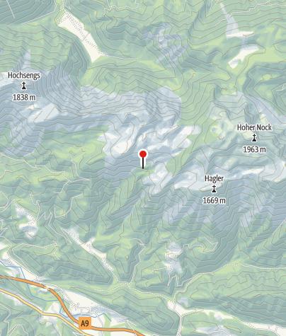Karte / Bärenriedlau Hütte