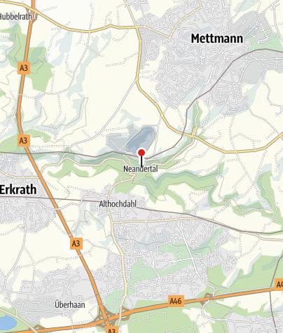 Map / Dem Neandertaler auf der Spur