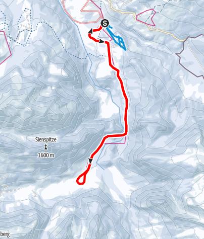 Karte / Sibratsgfäll | Von Sibratsgfäll bis Schönenbach