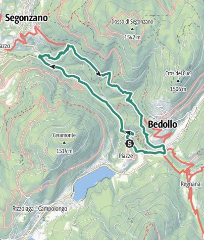 Map / Val Regnana