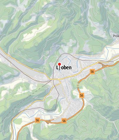 Karte / Hervis Bewegungsarena  Leoben - Rathaus