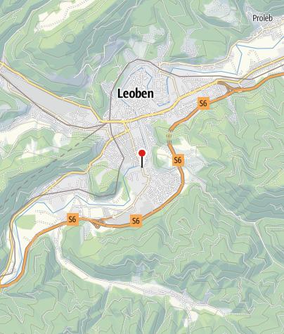 Karte / Hervis Bewegungsarena Leoben - Hirschgraben