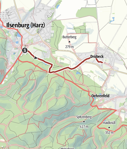 Karte / Von Kloster zu Kloster auf dem Harzer Klosterwanderweg