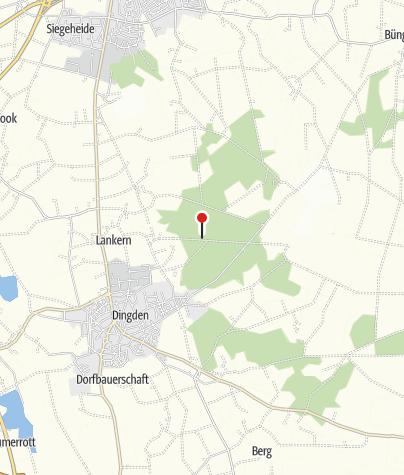 Mapa / Ferien- und Erholungsgebiet Dingdener Heide, Hamminkeln
