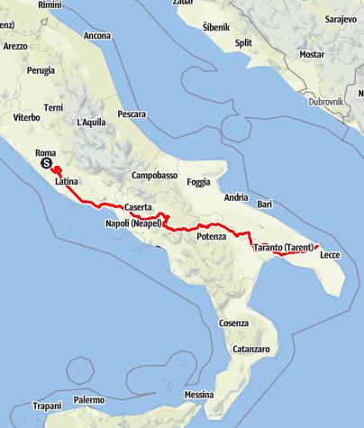 Map / Via Appia
