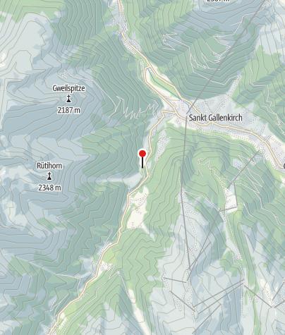 Karte / Rüti-Kapelle