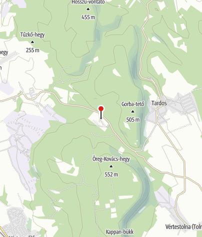 Térkép / Agostyáni Arborétum