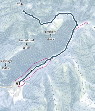 Map / Hohe Wasserfalle