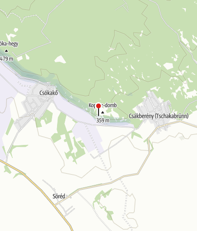 Térkép / Kopasz-dombi kilátóhely és panorámaút