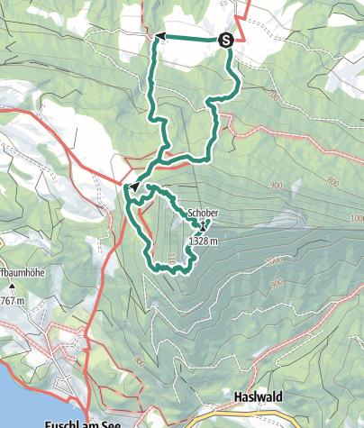 Map / Schober Frauenkopf von Schwandbauer