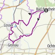 Karte / Das Dreiländereck: Niedersachsen-Westfalen-Holland