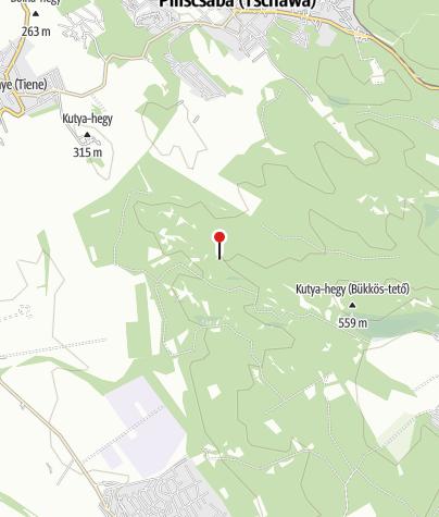 Térkép / Kilátóhely (Zajnát-tető)