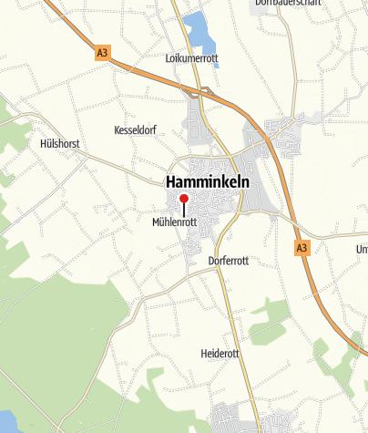 Karte / Obstkelterei van Nahmen GmbH & Co. KG