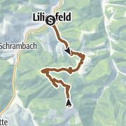 Karte / Muckenkogel-Strecke