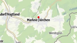 Karte / Wie der Musikinstrumentenbau ins Vogtland kam