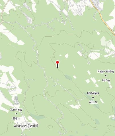 Térkép / Grácia-sziklák