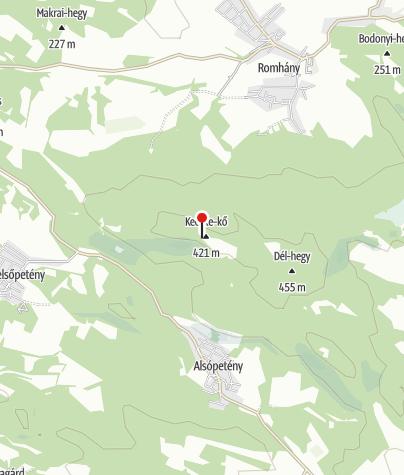 Térkép / Prónay-kilátó (Romhány)