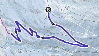 Map / Toboggan run Stallwiesalm - Sölden