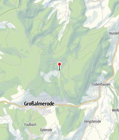 Karte / Fahrbachtalhütte (Schutzhütte)