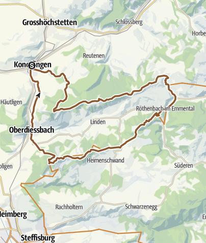 Karte / Falkeflue