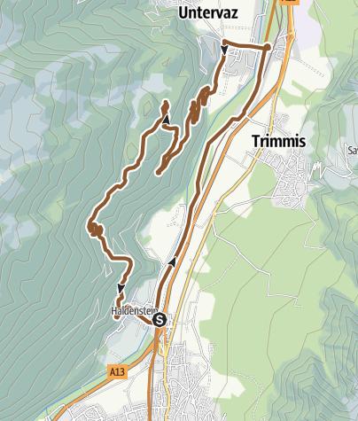 Hartă / Oldiswald