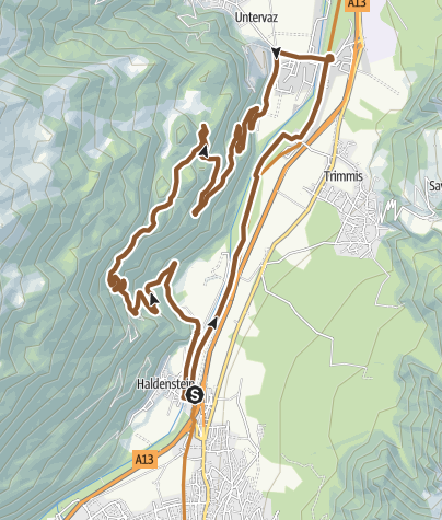 Hartă / Chöpfweg