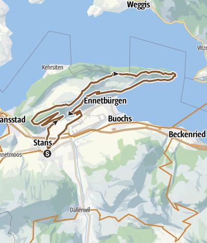 Karte / Bürgenberg