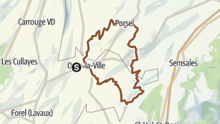 מפה / Durch die Hügel östlich von Oron