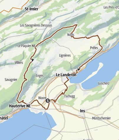 Mapa / Diesse-Nods