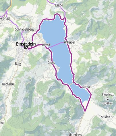 Karte / Sihlseetour