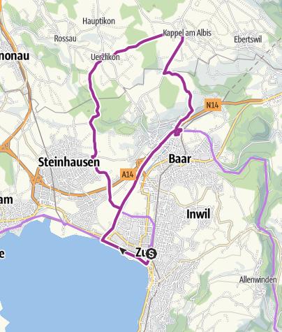 Karte / Kloster Kappel - einmal Geschichte und zurück