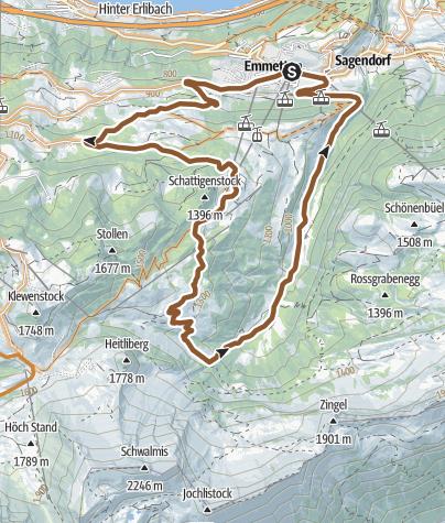 Karte / 922 - Choltal