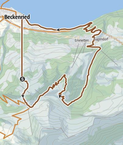 Carte / Seeblick Trail