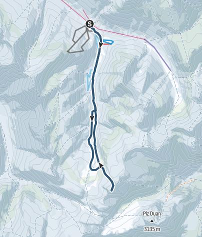 מפה / Gletscherhorn (3107 m.ü.M.)