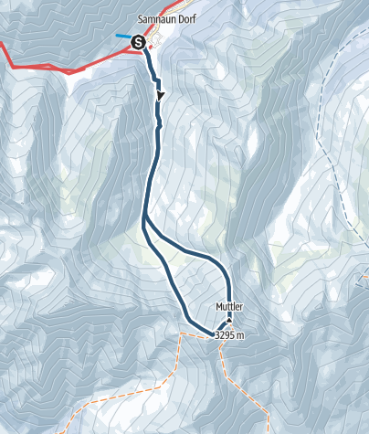 Karte / Muttler (3294.4 m.ü.M.)