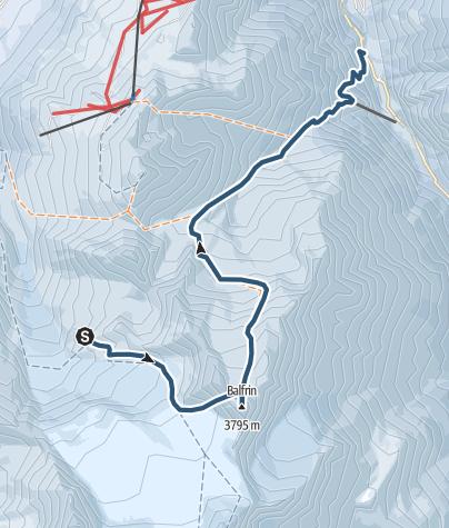 Karte / Balfrin (3795 m.ü.M.)