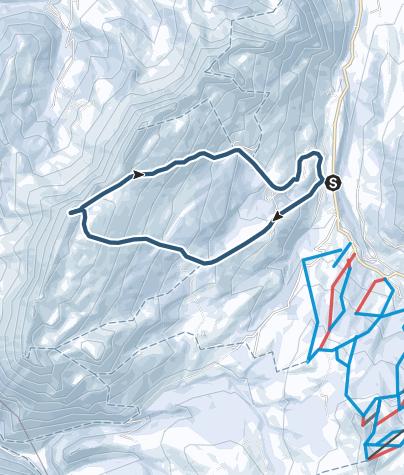 Karte / Hängst (Schratteflue) (2091 m.ü.M.)