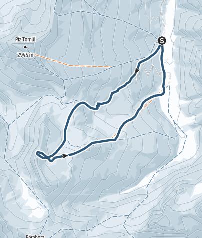 Map / Tomülgrat (2738 m.ü.M.)