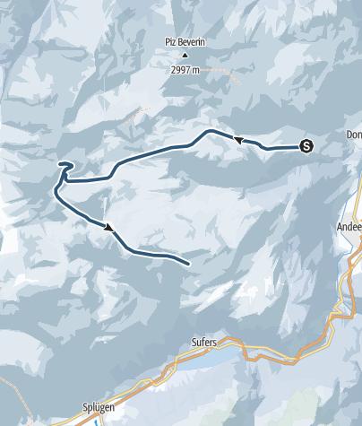 Karte / Gelbhorn (3036 m.ü.M.)