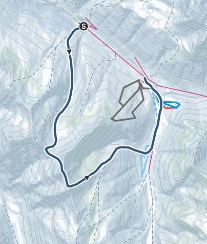 מפה / Tscheischhorn (3019 m.ü.M.)