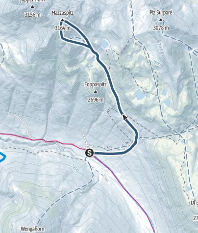 מפה / Mazzaspitz (3164 m.ü.M.)