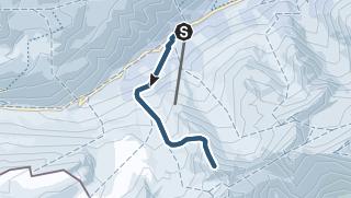 Karte / Pizzo Grandinagia (2700 m.ü.M.)