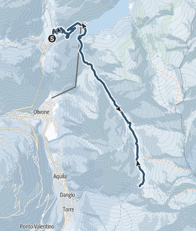 Karte / Capanna Adula (2012 m.ü.M.)