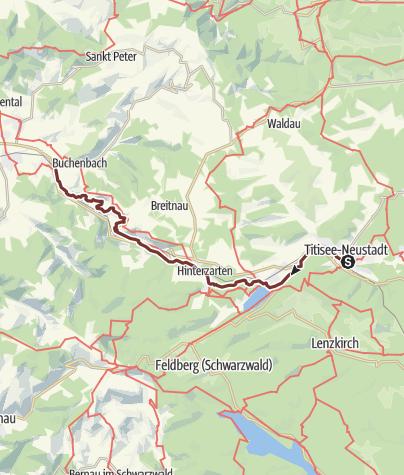 Karte / Himmelreich-Weg: Neustadt - Himmelreich