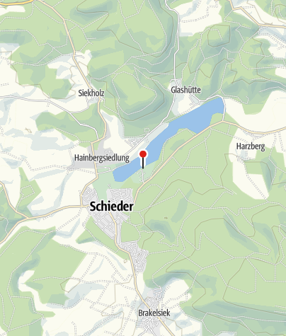 Karte / Freizeitanlage Schiedersee: Freizeit - Feier - Vergnügen