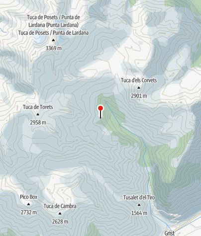 Karte / Refugio Angel Orús