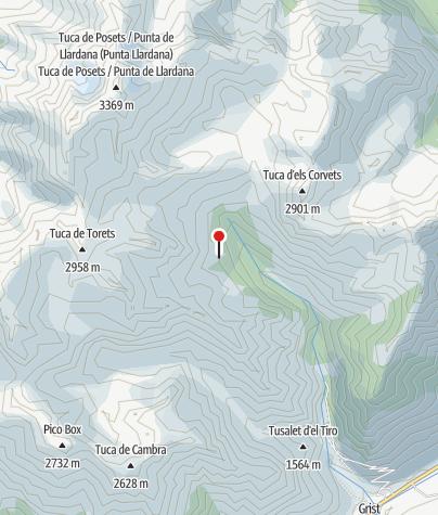 מפה / Refugio Angel Orús